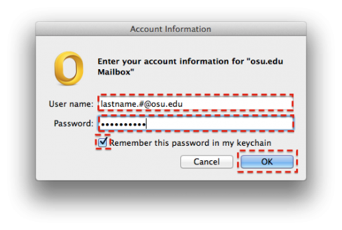 FIX – Mac Outlook 2011 keeps Prompting for Password | OLM